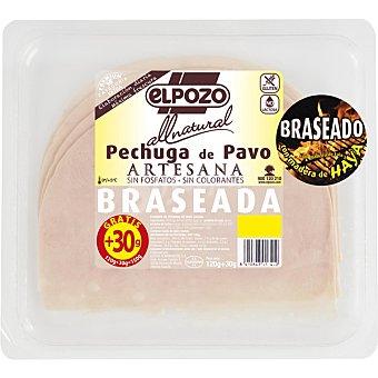 ElPozo Pechuga de pavo artesana en lonchas  All Natural envase 120 g