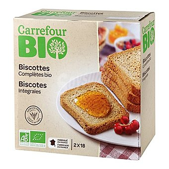 Carrefour Bio Biscotes integrales 300 g