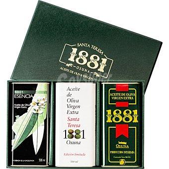 1881 aceite de oliva virgen extra pack 3 latas 500 ml