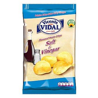 Vicente Vidal Patatas fritas sabor sal y vinagre 135 g