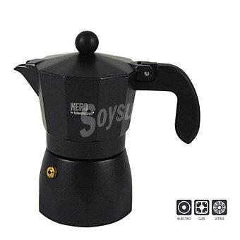 IDEALCASA Cafetera modelo italiana 3 tazas 1 unidad