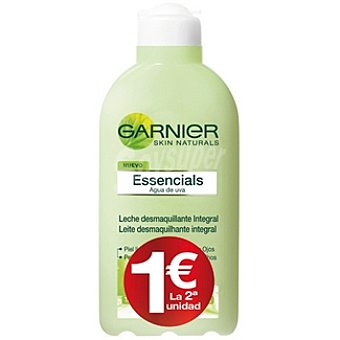Skin Naturals Garnier Leche desmaquillante integral (el 2º frasco sale por solo 1€) Pack 2 frasco 200 ml