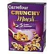 Muesli con frutas 750 g Carrefour