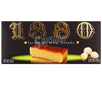 1880 Turrón de yema tostada 250 gramos
