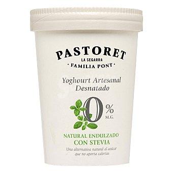 Pastoret Yogur desnatado edulcorado con stevia 500 Gramos