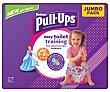 Pañales de aprendizaje talla 1-2.5, para niñas de 8 a 17 kilogramos 27 uds Huggies Pull-Ups