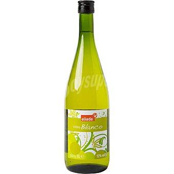 VIÑAS ALTAS Vino blanco joven elaborado para grupo El Corte Inglés  Botella de 1 l
