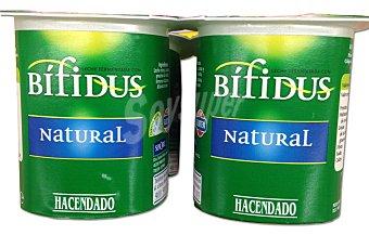 Hacendado Yogur bifidus natural Pack 4 x 125 g - 500 g