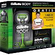 Pack maquinilla + 3 recambios con regalo de 1 mes de personal trainer 1 mes Gillette body
