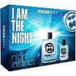 Night Instinct eau de toilette masculina + miniatura 30 ml Spray 100 ml Pachá Ibiza