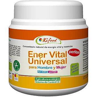 KIFOOD Concentrado natural Ener Vital Universal para hombre y mujer en perlas Envase 350 g