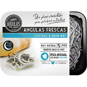 ANGULAS RIO MIÑO Angulas frescas  bandeja 250 g