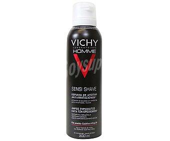 VICHY HOMME Espuma de afeitar para pieles secas 200 mililitros