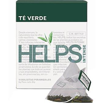 HELPS INTENSE té verde Estuche 10 bolsitas