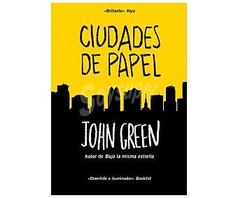 DeBolsillo Ciudades de Papel, john green, libro de bolsillo. Género: novela narrativa. Editorial: Debolsillo