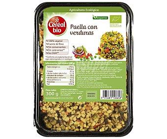 CEREAL BIO Paella con verduras ecológica, 300 gramos