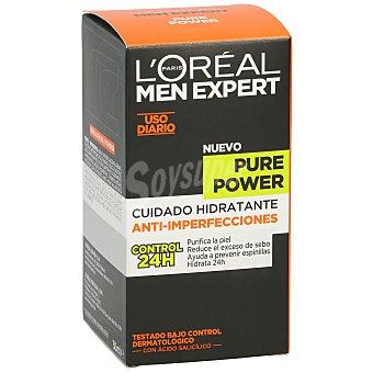 L'Oréal Men Expert Cuidado hidratante anti-imperfecciones Pure Power Frasco 50 ml