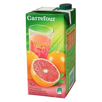 Carrefour Néctar de pomelo rosa 1 l