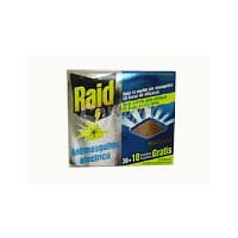 Raid Insecticida eléctrico antimosquitos 40 pastillas