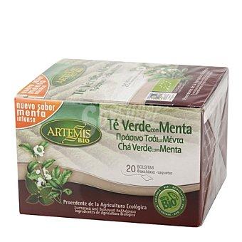Naturesana Artemis Bio Té verde con menta en bolsitas ecológico Artemísbio 20 ud