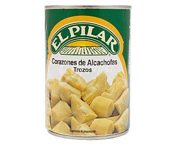 El Pilar Corazones de alcachofa trozos 240 gramos