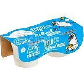 Ultzama Yogur natural azucarado Pack 2x80 g