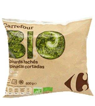Carrefour Bio Espinacas picada a la crema 600 g