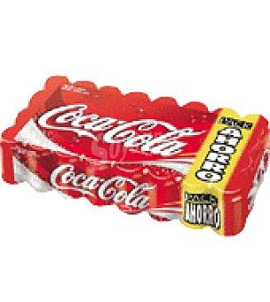 Coca-Cola Bebida refrescante de cola pack de 32x33 cl