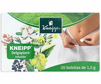 KNEIPP Infusión Delgaplant 20 Bolsitas de 1,5 Gramos