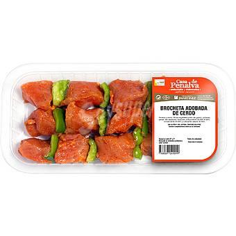 CASA DE PENALVA Brochetas de cerdo bandeja 3 unidades (400 g peso aproximado)