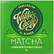 Chocolate blanco con té verde matcha tableta 50 g tableta 50 g WILLIE'S CACAO