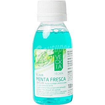 Veckia elixir menta fresca con flúor protege contra la caries y cuida el esmalte frasco 100 ml