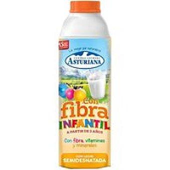 Central Lechera Asturiana Leche de fibra infantil Brik 1 litro