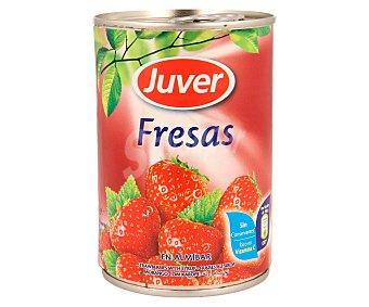 Juver Fresas en almíbar 425 gramos