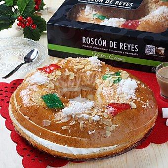 Roscón mediano nata-crema 850 g
