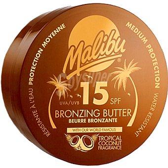 Malibu loción bronceadora Bronzing Butter FP-15 tarro 250 ml