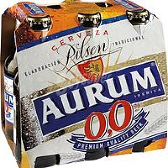 Cerveza sin alcohol 0 Pack 6x25 cl