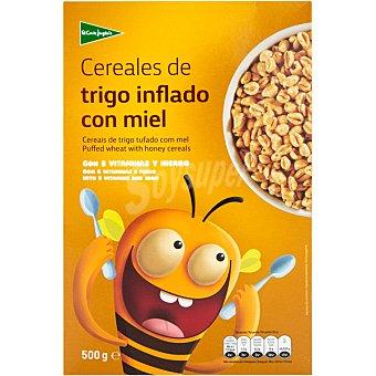 Aliada Cereales de desayuno de trigo inflado con miel con 8 vitaminas y hierro  g