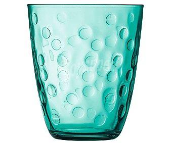 Luminarc Vaso de vidrio con diseño en relieve color verde, , Pepite luminarc 0,31 litros