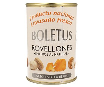 Boletus Rovellones enteros al natural Lata 200 g