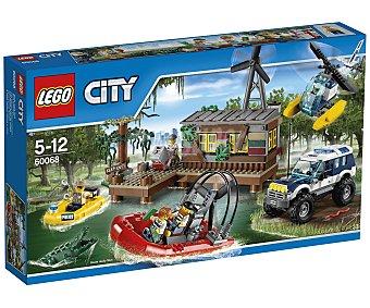 LEGO Juego de construcciones City La guarida de los ladrones, 473 piezas, modelo 60068 1 unidad