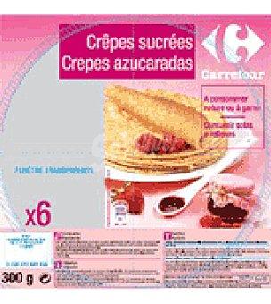Carrefour Crepes azucaradas 300 g