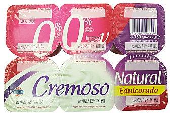 Hacendado Yogur cremoso natural azucarado u 500 g