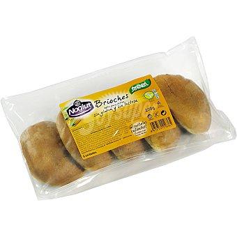 SANTIVERI NOGLUT Brioches sin gluten envase 200 g Envase 200 g
