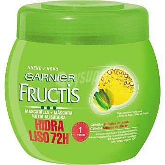 Fructis Garnier Mascarilla fortificante hidra-liso nutrialisadora cabello difícil de alisar Tarro 400 ml