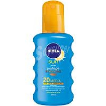 Nivea Sun Protege&broncea F20 Spray 200 ml