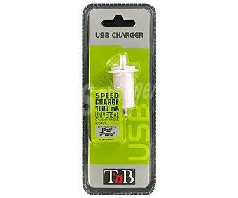 TNB ACMP034491 Cargador Coche 1A USB