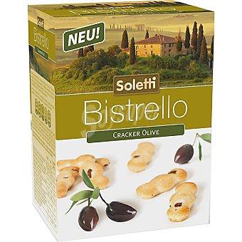 SOLETTI BISTRELLO Cracker con olivas Paquete 75 g