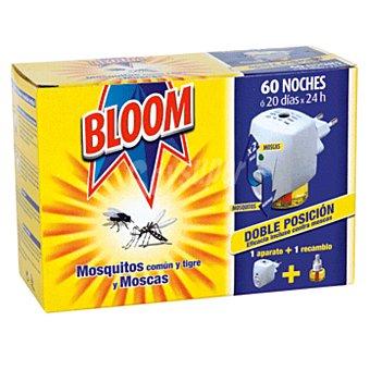Bloom Insecticida eléctrico antimosquitos aparato + recambio 1 ud