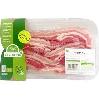 ECOROMA Panceta de cerdo ecologico peso aproximado Bandeja 300 g